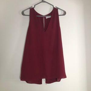 Babaton Maddox blouse size large
